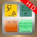 PowerDocs HD (Google Docs™ Client) icon