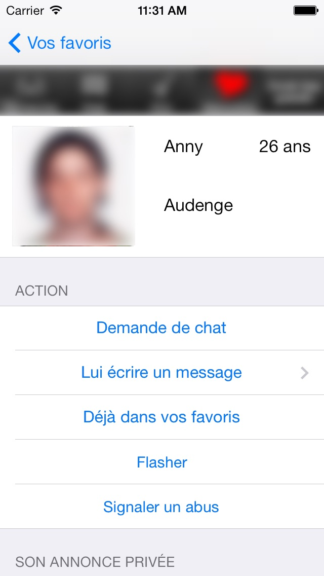 Application rencontre fb