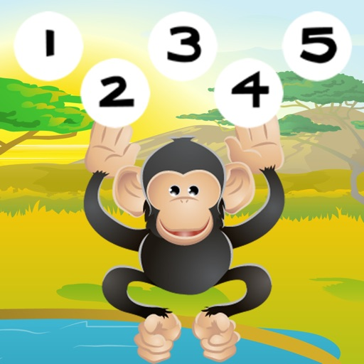 123 Primo-s & Count-ing Learn-ing Game With Wild Animal-s For Kids
