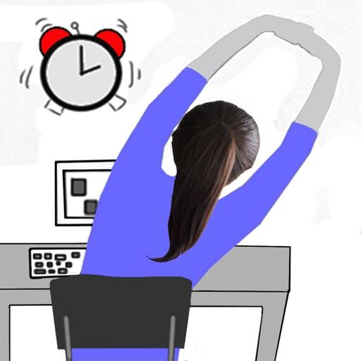 1 Minute Desk Workout iOS App