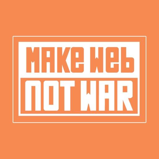 Make Web Not War iOS App