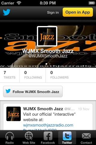 WJMX Smooth Jazz Radio screenshot 3