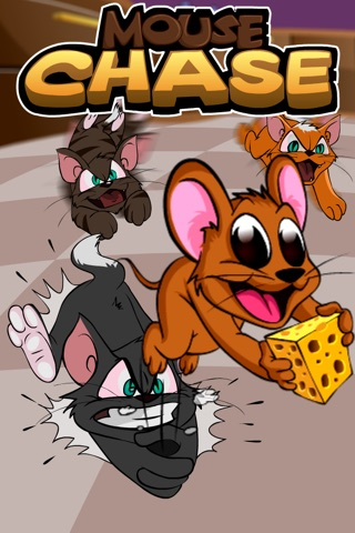 Mouse Chase - Top Best Free Endless Cat Race Escape Game screenshot 1