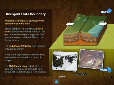 Earth's Landforms (School) screenshot 4