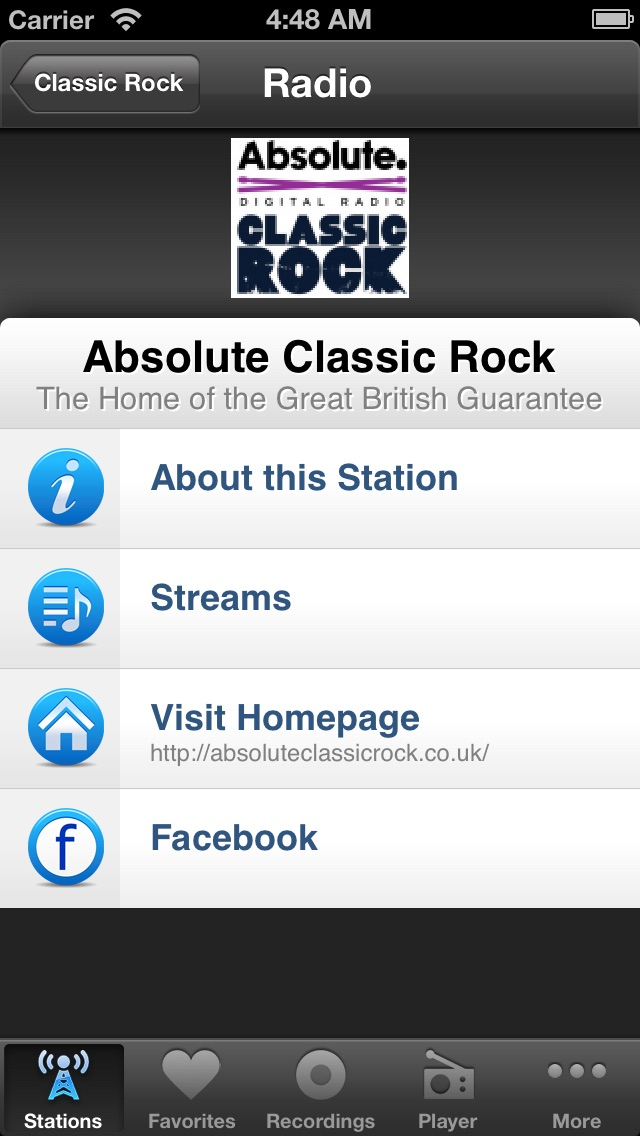Internet Radio Box Screenshot 5