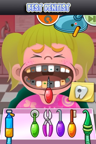 Best Dentist Free Kids Family Game screenshot 3