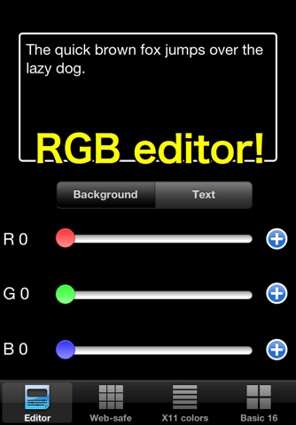 RGB checker - Check Colors! screenshot 1