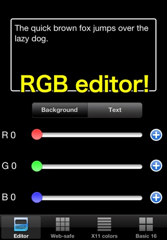 RGB checker - Check many colors! screenshot 1