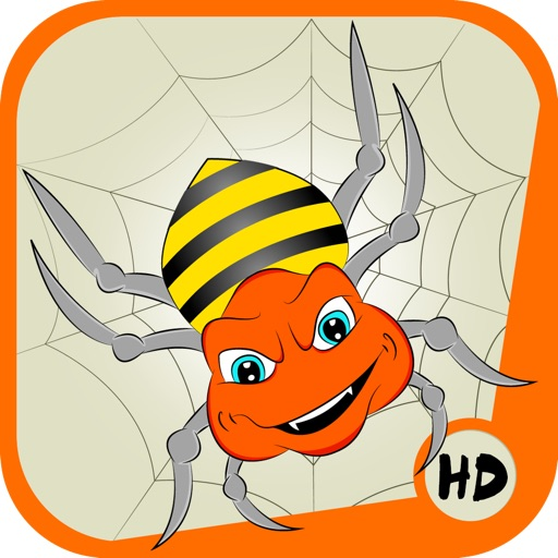 Amazing Angry Spider HD iOS App