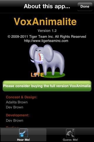 VoxAnimalite screenshot 4