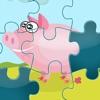 Puzzle der Farm - Spiel des Puzzles für Kinder, Kleinkinder und Eltern! Lernen mit Tieren, Bauer, Kuh, Pferd, Schaf, Gans, Ente, Biene und Schmetterling für Kindergarten, Vorschule und Kindergarten