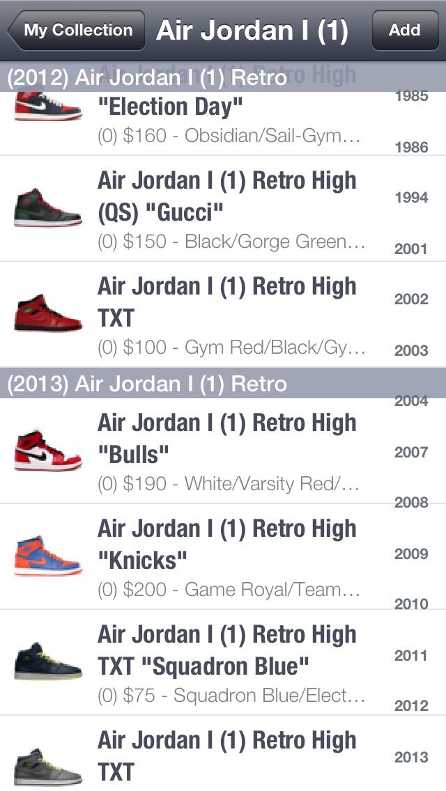 SPG: Sneaker Price Gu... screenshot1