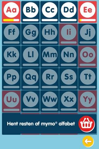 Mymo® Alfabet A-E - GRATIS screenshot 2
