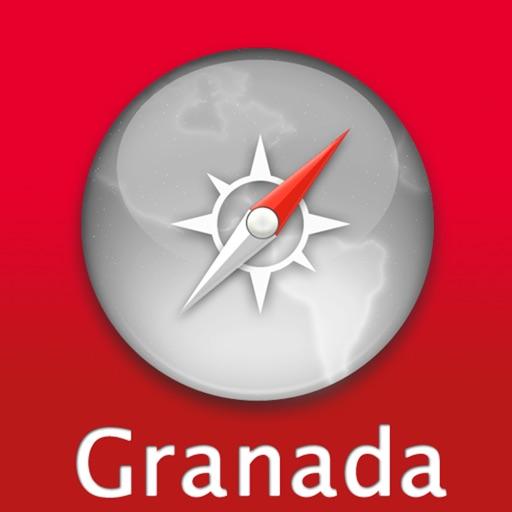 格兰纳达自由行地图 (Granada, 西班牙)