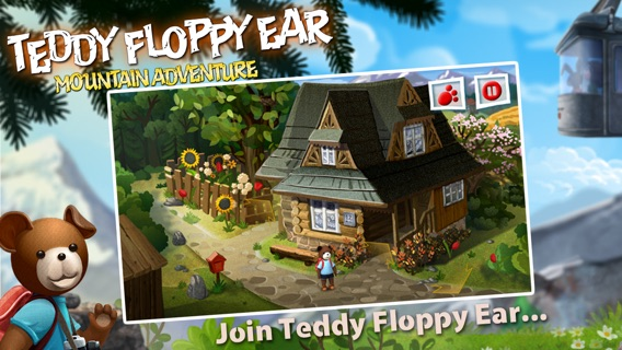 Teddy Floppy Ear - Mountain Adventure Screenshot