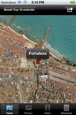 Brésil – Top 10 endroits - VERSION GRATUITECapture d'écran de 2
