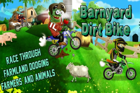 Barnyard Dirt Bike Moto X Racing - An action packed farmland dirtbike and motocross game screenshot 3