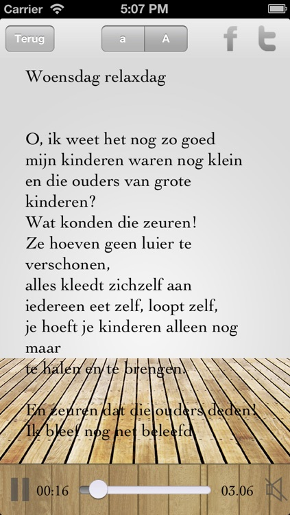 gedicht over ouders