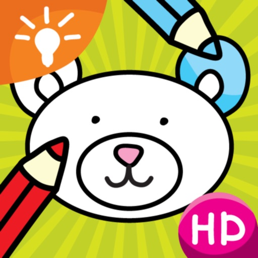 Coloring Smart - Fun and Education for Kids Icon