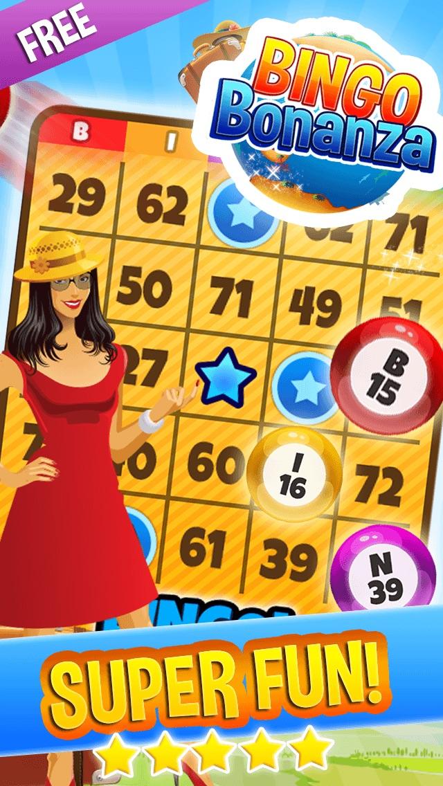 Screenshots of Bingo Bonanza Island - Win The Casino Numbers Game And A Lucky Beach for iPhone
