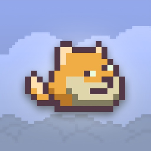 Dumpy Doge - The Adventure of 1Touch Flying Dog iOS App