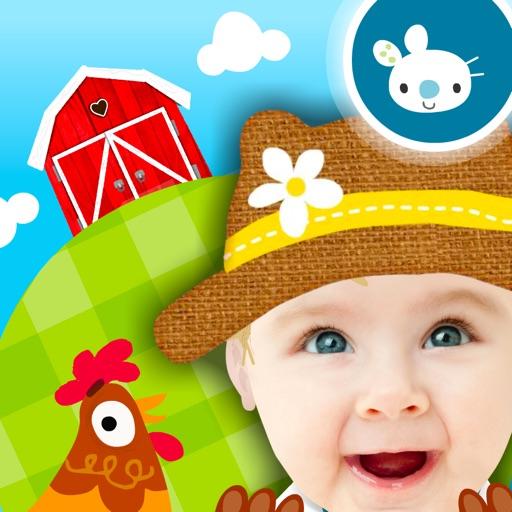 Peekaboo You™ Baby - Barn Animals