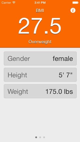 ideal weight women