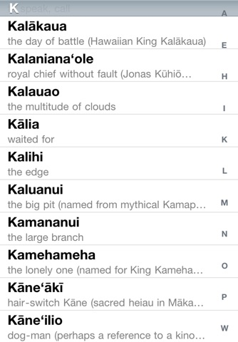 Speak Hawaiian Place Names screenshot 1