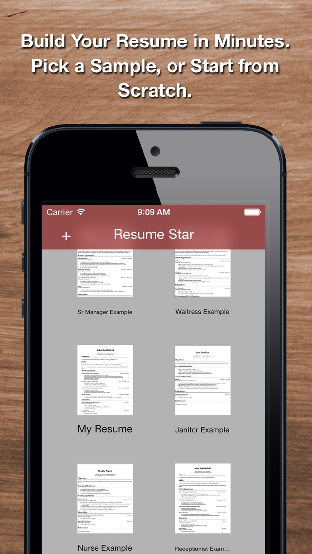 resume star  pro cv maker and resume designer with pdf output to help you score that job