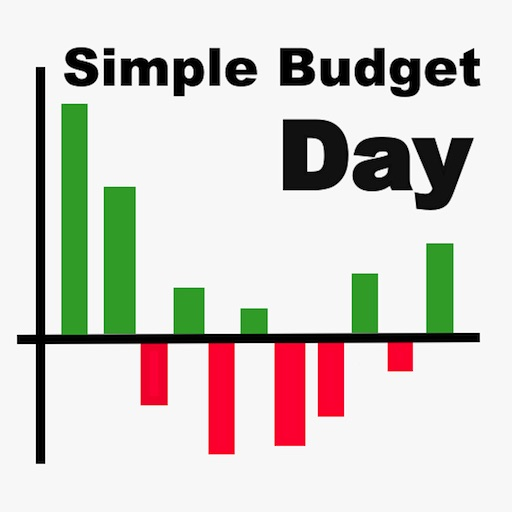 simple budget day icon