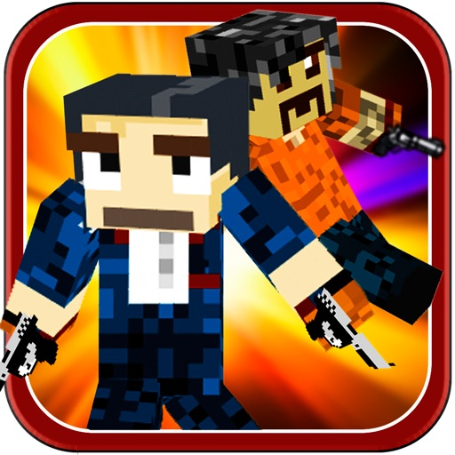 Skins Shooter Survival Game - Craft Your Driving Racing With Pixel Cars iOS App