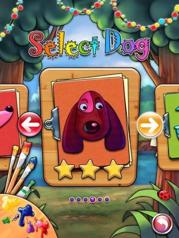 Pet Coloring Book HD-Draw game screenshot 2