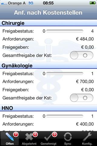 Medikamenten Freigabe screenshot 1