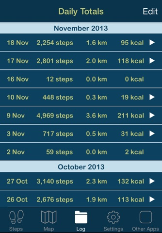 iSteps GPS Pedometer PRO screenshot 3