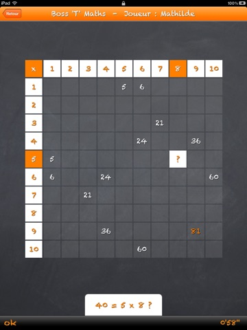 Table de multiplication invers e dans l app store - Reviser ses tables de multiplications ...