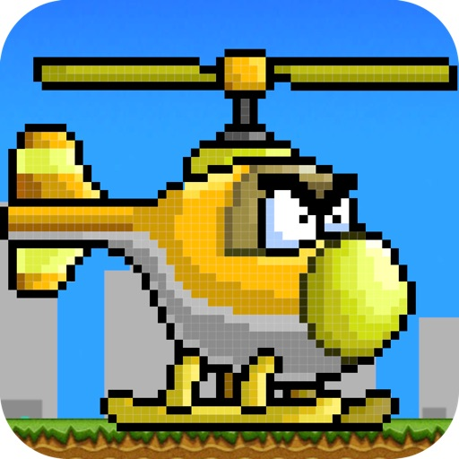 FlappyCopter-Flappy Flyer Challenge iOS App