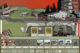 Screenshots of Zombie Trailer Park for iPhone