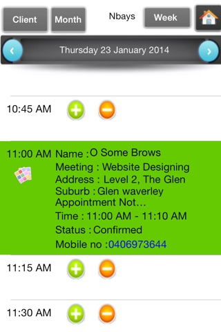 Appointments Organizer screenshot 3