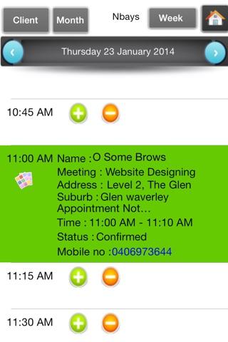 Appointments Organizer screenshot 3