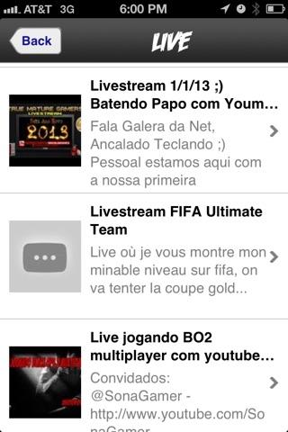 Live Tube screenshot 2