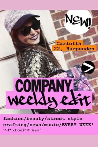 Company Weekly Edit UK screenshot 1