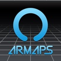 AR-MAPS with transfer search icon
