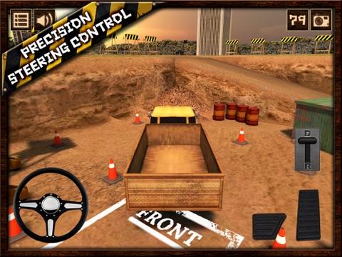 Screenshot #6 pour Truck Parking 3D Free