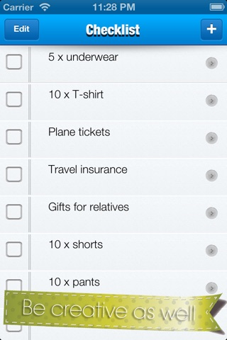 Checklist √ screenshot 4
