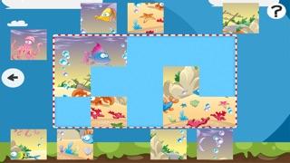 Puzzle de la mer - jeu de puzzles pour enfants en bas âge et les parents! Apprendre avec des poissons, anguilles, crabes, tortues, l'eau, océan, requin de la maternelle, école maternelle et l'école maternelleCapture d'écran de 1