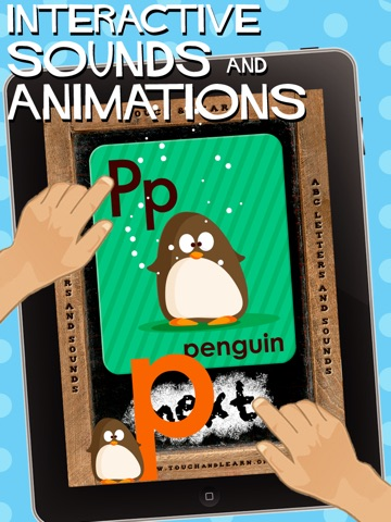 abc First Step - Letters & Sounds for iPad screenshot 1