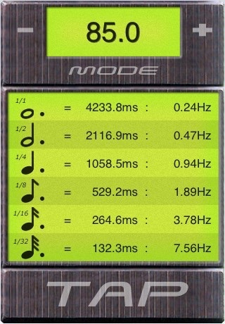 BPM Tap Tempo screenshot 3