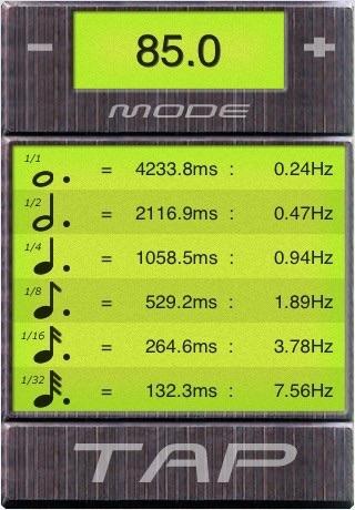 BPM Tap Tempo screenshot 3
