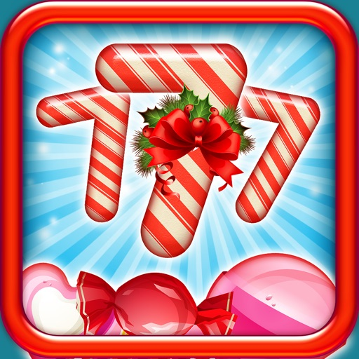 A Candy Slots Christmas Casino Pro Holiday Slot Machine with Free Coins for Adults iOS App