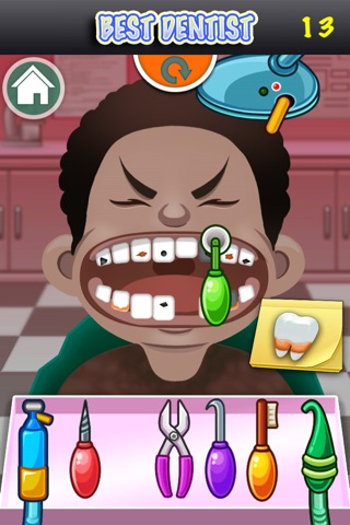 Best Dentist Free Kids Family Game screenshot 4